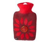 Wärmflasche Filz Blume