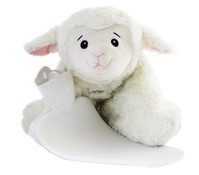 Wärmflasche Kuscheltier Schaf