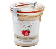 Weißer Erdbeertraum Brotaufstrich, 140 g