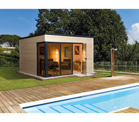Weka Design-Gartenhaus Cubilis