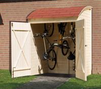 Weka Fahrradgarage, 134 x 160 x 223 cm