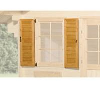 Weka Fensterladen Gartenhaus 134