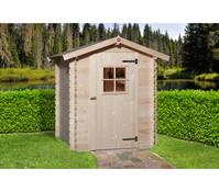 Weka Gartenhaus 19 mm, 150 x 150 cm, ohne Boden