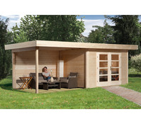Weka Gartenhaus Chill-Out 3, 590 x 240 cm
