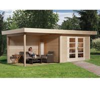 Weka Gartenhaus Chill-Out 3 Größe 2, 590 x 300 cm