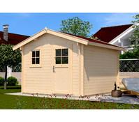 Weka Gartenhaus Premium 28 FT Sparset + Vordach 20 cm