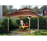 Weka Gartenoase 651 B Gr. 1 mit Dachschindeln