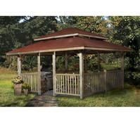 Weka Gartenoase 651 C Gr. 2 mit Dachschindeln