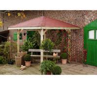 Weka Gartenoase 651 Gr. 1 mit Dachschindeln