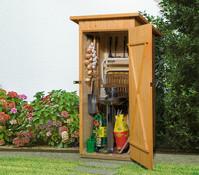 Weka Holzschrank für den Garten & die Terrasse