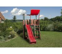 Weka Kinderpielturm 816 B mit Wellenwasserrutsche