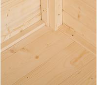 Weka Massivholzboden für Gartenhaus 122/123
