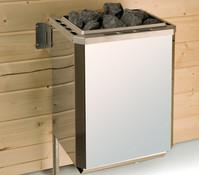 Weka Saunaofen-Set 2, BioAktiv-Saunaofen 7,5 kW mit Ofenanschlusskabelund Steuergerät