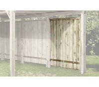 Weka Seitenwand für Carport