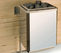 Weka Technikpaket 1, Saunaofen 9 kW mit Anschlusskabel und Steuergerät