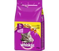 Whiskas® 7+ mit Huhn, Trockenfutter, 1,9 kg