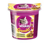 Whiskas® Crunch mit Huhn, Truthahn & Ente, Katzensnack, 100g