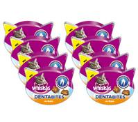 Whiskas® Dentabits Huhn, Katzensnack, 8 x 40g