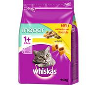 Whiskas® Indoor 1+ mit Huhn, Trockenfutter, 950 g