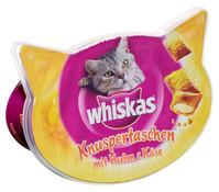 Whiskas® Knuspertaschen, Katzensnacks, 60g