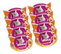 Whiskas® Knuspertaschen Rind, Katzensnack, 8x60 g