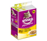 Whiskas® Mini Menüs, Nassfutter, 6x50g