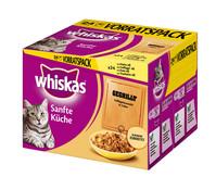 Whiskas® Sanfte Küche, gegrilltes Geflügel, Nassfutter, 24x 85g