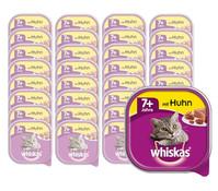 Whiskas® Senior 7+ Huhn, Nassfutter, 32 x 100g