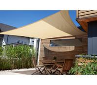 Windhager Sonnensegel SunSail Adria Quadrat 3,6 x 3,6 m
