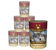 Wolfsblut Blue Mountain, Wild & Kartoffel, Nassfutter, 6 x 800g