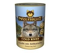 Wolfsblut Cold River Forelle & Süßkartoffeln, Nassfutter, 395g