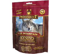 Wolfsblut Cracker Blue Mountain Wildfleisch, Hundesnack, 225g