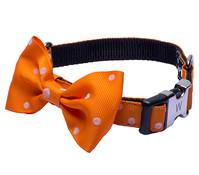 Wouapy Hundehalsband Bowtie mit Schleife, 12 mm