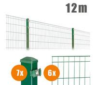 Zaun-Komplettpaket MICHL, 12 m lang