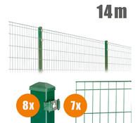 Zaun-Komplettpaket MICHL, 14 m lang