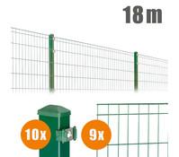 Zaun-Komplettpaket MICHL, 18 m lang