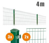 Zaun-Komplettpaket MICHL, 4 m lang