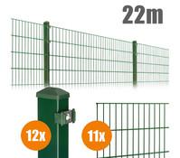 Zaun-Komplettpaket PICO, 22 m lang