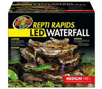 Zoo Med Repti Rapids LED Wasserfall M, Stein