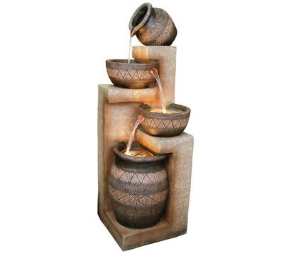 Dehner Polyresin-Gartenbrunnen Monterry, ca. B43,5/H117,5/T41,5 cm