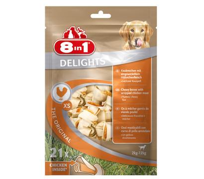 8in1 Delights Kauknochen im Beutel, Kausnacks
