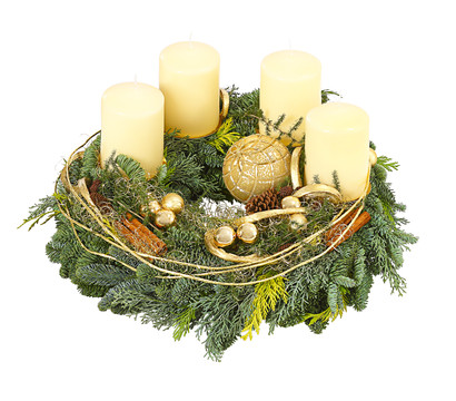 Adventskranz 'Chamonix'