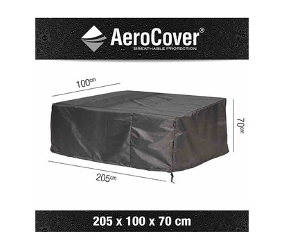 Aero Cover Loungebankhülle, 205x100x70 cm