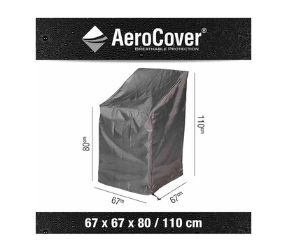 Aero Cover Stapelstuhlhülle, 67x67x80/110 cm