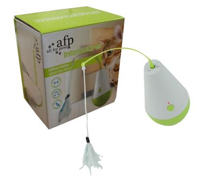 afp Katzenspielzeug Interactives Culbuto Feather