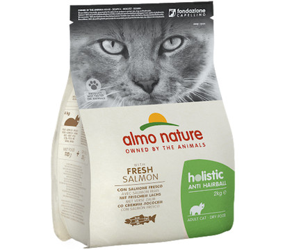 Almo Nature Adult Anti Hairball, Trockenfutter, 2 kg