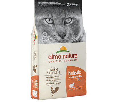 Almo Nature Holistic Adult Cat, Trockenfutter, 12 kg