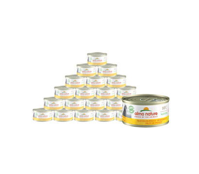 almo nature Nassfutter HFC Natural Hühnerfilet, 24 x 70 g