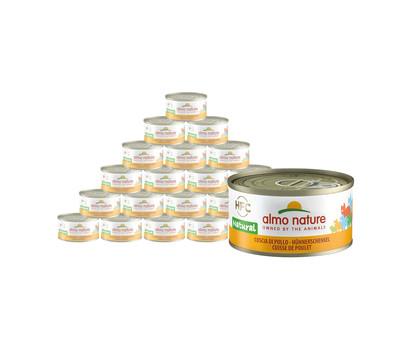 almo nature Nassfutter HFC Natural Hühnerschenkel, 24 x 70 g