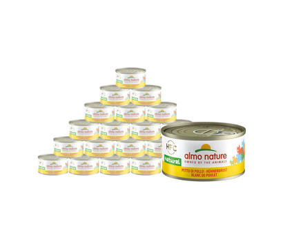 almo nature Nassfutter Legend Hühnerbrust, 24 x 70g